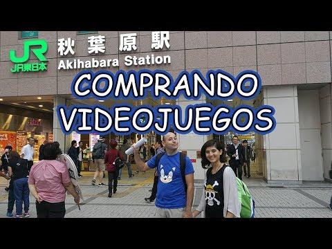 COMPRAS DE JAPON #6 | COMPRANDO VIDEOJUEGOS EN AKIHABARA