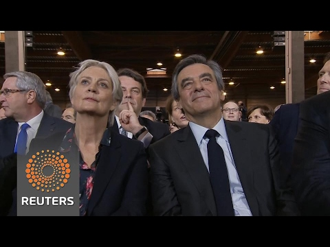 France's Fillon and his wife questioned in 'fake work' probe