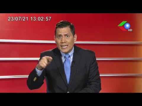 PIDEN CARCEL PARA EX ASESOR DE MURRILLO  NOTICIERO EDICION MERIDIANA VIERNES 23-07-21