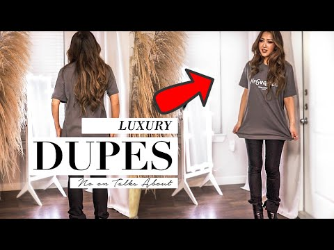 5 DESIGNER Dupes NO ONE Talks About! **but stylish women know!* | How to Look Expensive | AMAZON