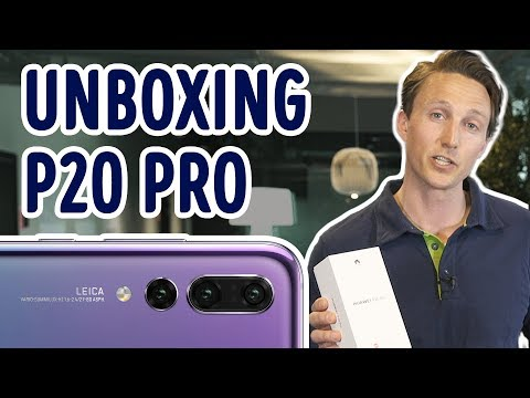 Unboxing & Review: Huawei P20 Pro - Elkjøp