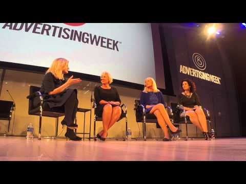 Publicis North America's Chairman, Susan Gianinno Speaking at Advertising Week XI NY