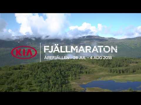 KIA Fjällmaraton Årefjällen 2018