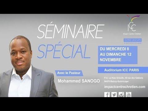 Pasteur Mohammed SANOGO - Vaincre les 4 formes d'attaques majeures du malin - Session 4