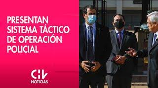 Pdte. Piñera presentó Sistema Táctico de Operación Policial
