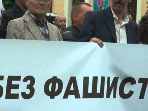 Антифашистський мітинг Партії Регіонів в Чернівцях