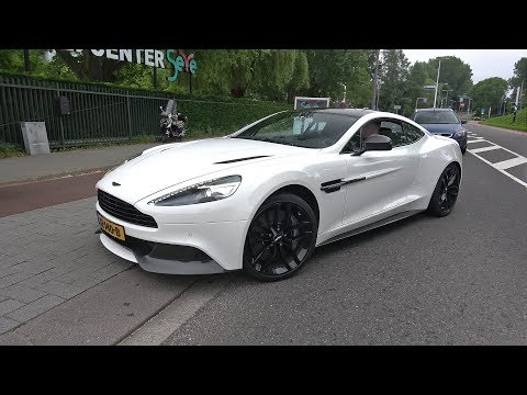 Aston Martin Vanquish Carbon Black Edition – Start Up & Accelerations!