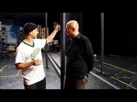 """Vi hälsade på Hugo & Benke efter rep för """"Det sjunde inseglet"""""""