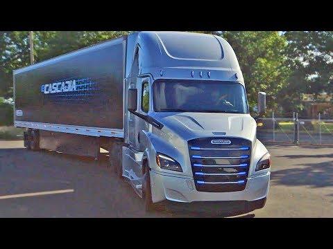 Freightliner eCascadia (2021) Electric Semi Truck