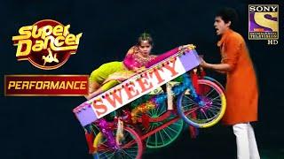 "Manan And Vaishnavi's High-Spirited Dance On ""Sweety Tera Drama"" | Super Dancer Chapter 2 - SETINDIA"