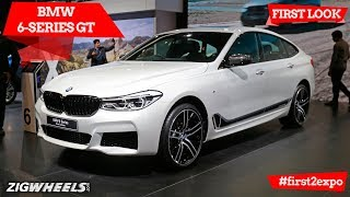 BMW 6-Series GT | First Look | Auto Expo 2018 | ZigWheels.com