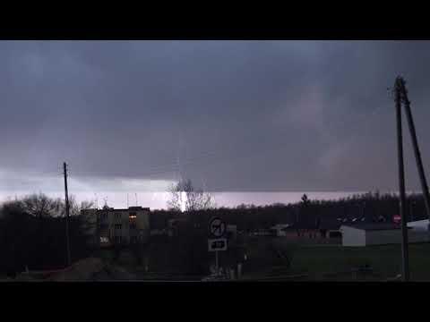 Powiat Grodziski   burza 1 marca 2020