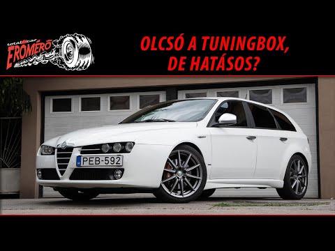 Totalcar Erőmérő: Alfa Romeo 159 Ti JTDm 2012