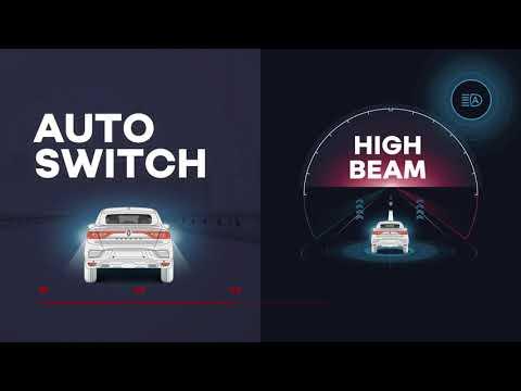 Nya Renault Arkana - Automatiskt Hel- och halvljus