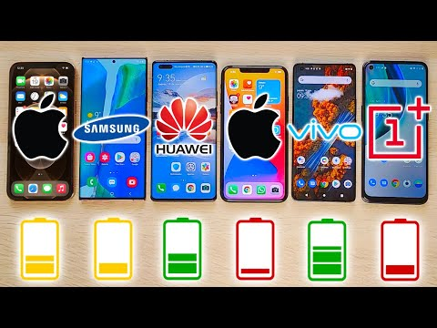 iPhone 12 Pro Max vs NOTE 20 Ultra, Mate 40 Pro, 11 Pro Max, ViVo X51, TEST DE BATERIA EXTREMO!!