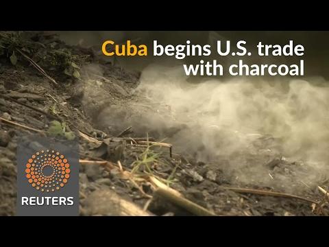 Despite setbacks, Cuba begins U.S. exports with charcoal