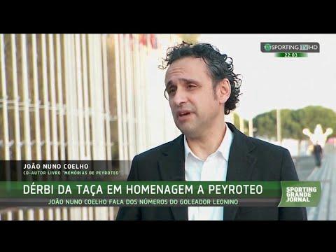 João Nuno Coelho fala sobre Peyroteo - Sporting TV (20/11/2015)