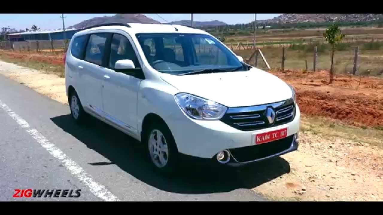 Renault Lodgy :: WalkAround :: ZigWheels