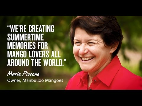 Marie Piccone's taking Aussie mangoes and summer memories to the world