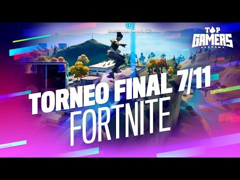 1a PARTIDA de FORTNITE | TORNEO FINAL (7 NOV) | TOP GAMERS ACADEMY