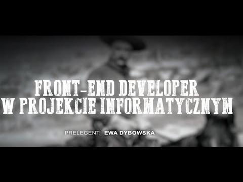 Front - End Developer w Projekcie Informatycznym