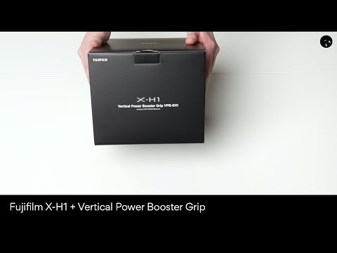Unboxing av Fuji X-H1