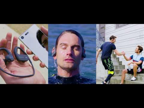 Беспроводные водонепроницаемые плееры Sony Walkman® серии NW-WS620