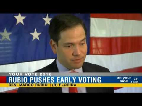 WFLA Highlights Rubio's Early Voting Push in Hillsborough County