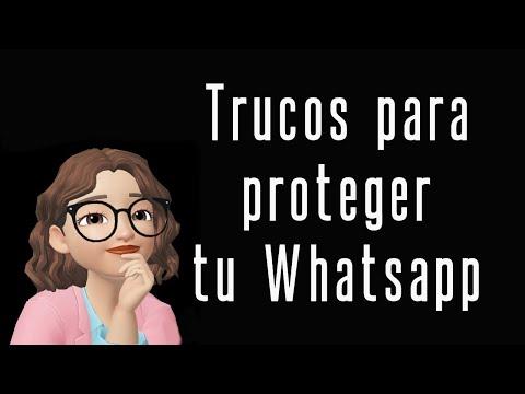 ¿Cómo proteger🔐 tu cuenta de Whatsapp? Te lo contamos 👇🏻👇🏻👇🏻