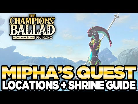 connectYoutube - Mipha's Song - Locations & Shrine Guide The Champions Ballad Breath of the Wild | Austin John Plays