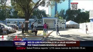 Más de 4,000 profesionales de la Salud aguardan por tomar examen residencias médicas