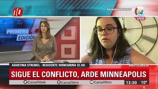 #Noticias10 | Conflicto social en E.E.U.U. por la muerte de George Floyd