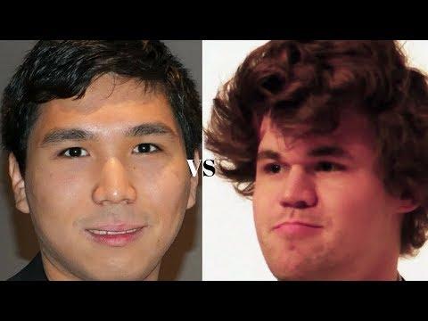 Amazing Chess Game: Wesley So vs Magnus Carlsen : Altibox Norway (2018) :  Slav Defense: Exchange