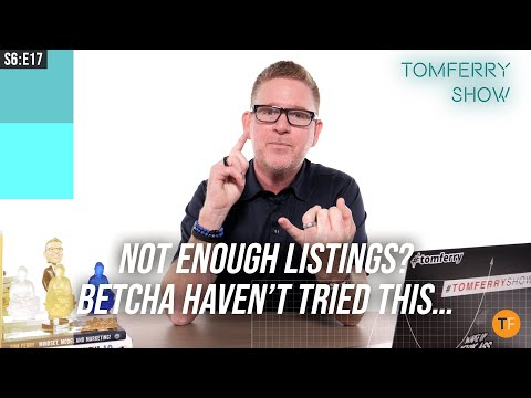 One 'Uncomfortable' Idea to Generate More Listings Now | #TomFerryShow