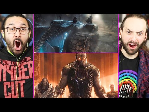 Snyder Cut BAT TANK & DARKSEID TEASER TRAILER   REACTION! (The Dark Knight Returns   Justice League)