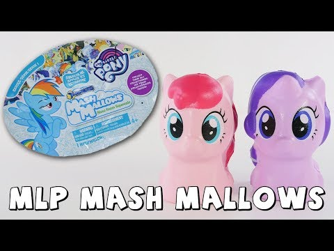 connectYoutube - MLP Squishy Mashems Mash Mallows Blind Bag Surprise Toys | DCTC Amy Jo