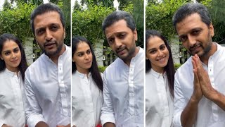 Riteish Deshmukh & Genelia Pledged To Donate Their Organs - Latest Tollywood News | TFPC - TFPC