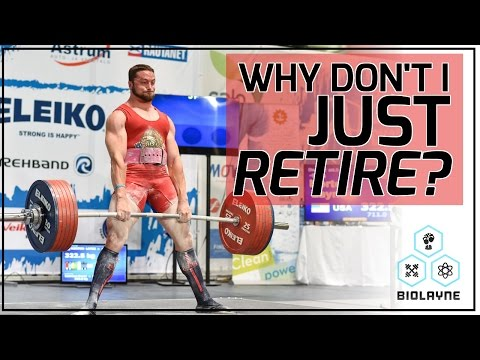 Why Don't I Just Retire? The Man in the Arena