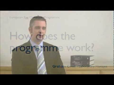 Sims IVF Egg Donor Programme: How does it work? - Graham Coull EDE Manager.wmv