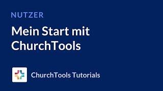 Mein Start mit ChurchTools