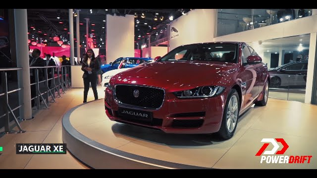 Jaguar XE : First Look : PowerDrift