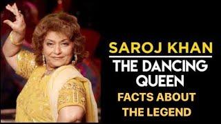 The Dancing Queen- Saroj Khan | Some unknown facts about the legendary dancer | RIP Saroj Ji | - TELLYCHAKKAR