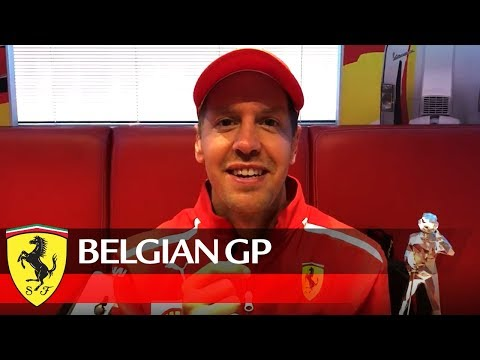 Belgian Grand Prix - Seb's message for you!