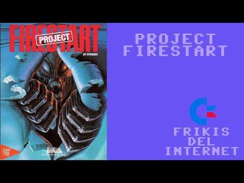 Project Firestart (c64) - Walkthrough comentado (RTA)