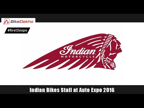 Indian Bike Stall @ Auto Expo 2016 | BikeDekho.com