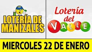 Resultados Lotería de MANIZALES y VALLE Miércoles 22 de Enero de 2020 | PREMIO MAYOR ????????????