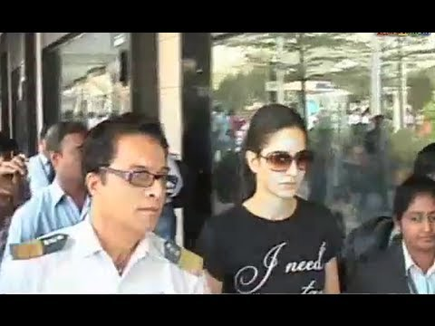 Dev Anand's Son And Katrina Kaif Spotted At The Airport