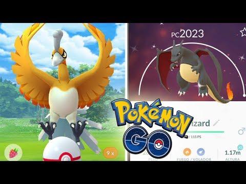 ¡Ho-Oh SHINY! POKÉMON LEGENDARIO SHINY en Pokémon GO!! Reporte CHARIZARD SHINY en Japón! [Keibron]