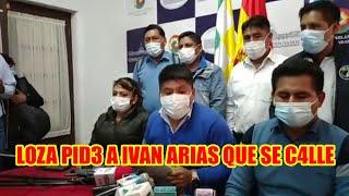 LEONARDO LOZA PIDE A IVAN ARIAS QUE SE C4LLE Y D3JE DE HABLAR DE EVO MORALES...