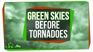 Why Does The Sky Turn Green Before Tornadoes?